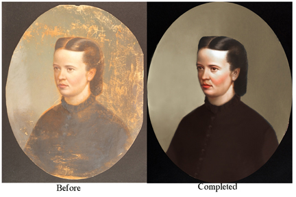 restored heirloom portraits MD VA DC